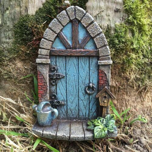 MINIATURE FAIRY DOOR SMALL GARDEN MYTHICAL MAGICAL ELF PIXIE FAERIES NEW /& BOXED