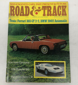Road-and-Track-November-1969-VW-Porsche-914-Mercedes-c-111-Ferrari-365-BMW-2002