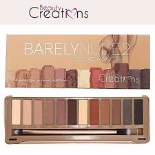 Beauty Creations Barely Nude2 Eyeshadow Palette 12 Colors | eBay