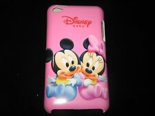 Mickey & Minnie Babies Cover Case for iPod Touch 4th Gen New Pink  Case