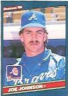1986 Donruss Joe Johnson #624 Baseball Card