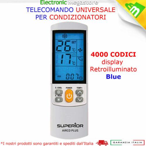 TELECOMANDO UNIVERSALE PER CLIMATIZZATORE CONDIZIONATORE D/'ARIA