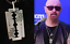 JUDAS-PRIEST-sterling-silver-british-steel-razor-pendant-HALFORD-a thumbnail 1