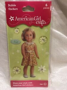 Details About American Girl Doll Crafts Kit Bubble Stickers