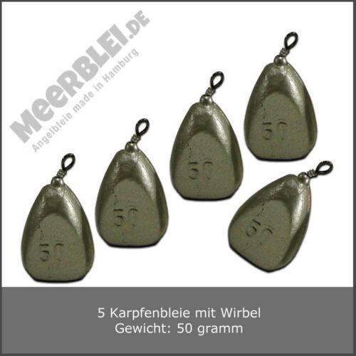 Angelblei /> 50 gramm /> 5 Stück /> Karpfenblei