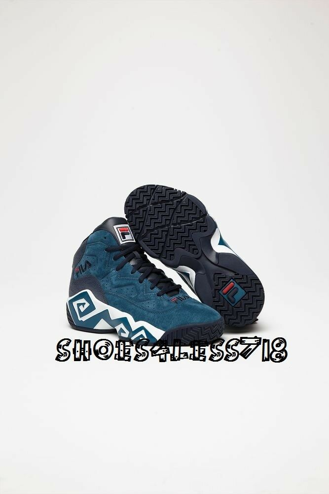 MEN'S FILA CLASSIC LIMITED EDITION LEATHER JAMAL MASHBURN MB BASKETBALL SNEAKER best-selling model of the brand