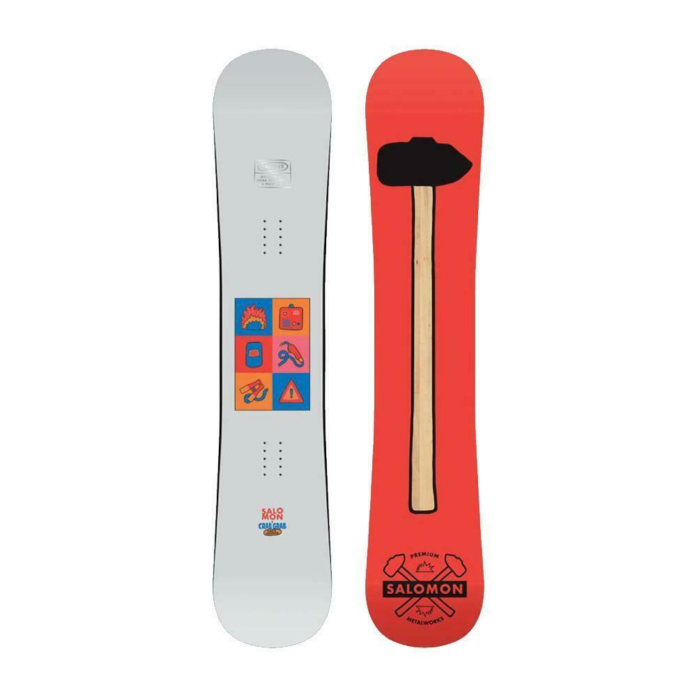 Tabla Snowboard All Mountain Freestyle Parque Salomon 6 Pieza 150 2020
