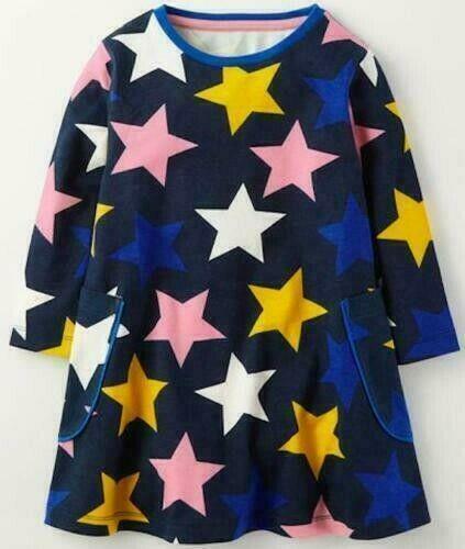 Robe Chemise Mini Boden Star T 3-10 ans