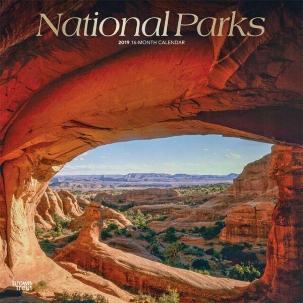 National Parks Wall Calendar 2019 For Sale Online
