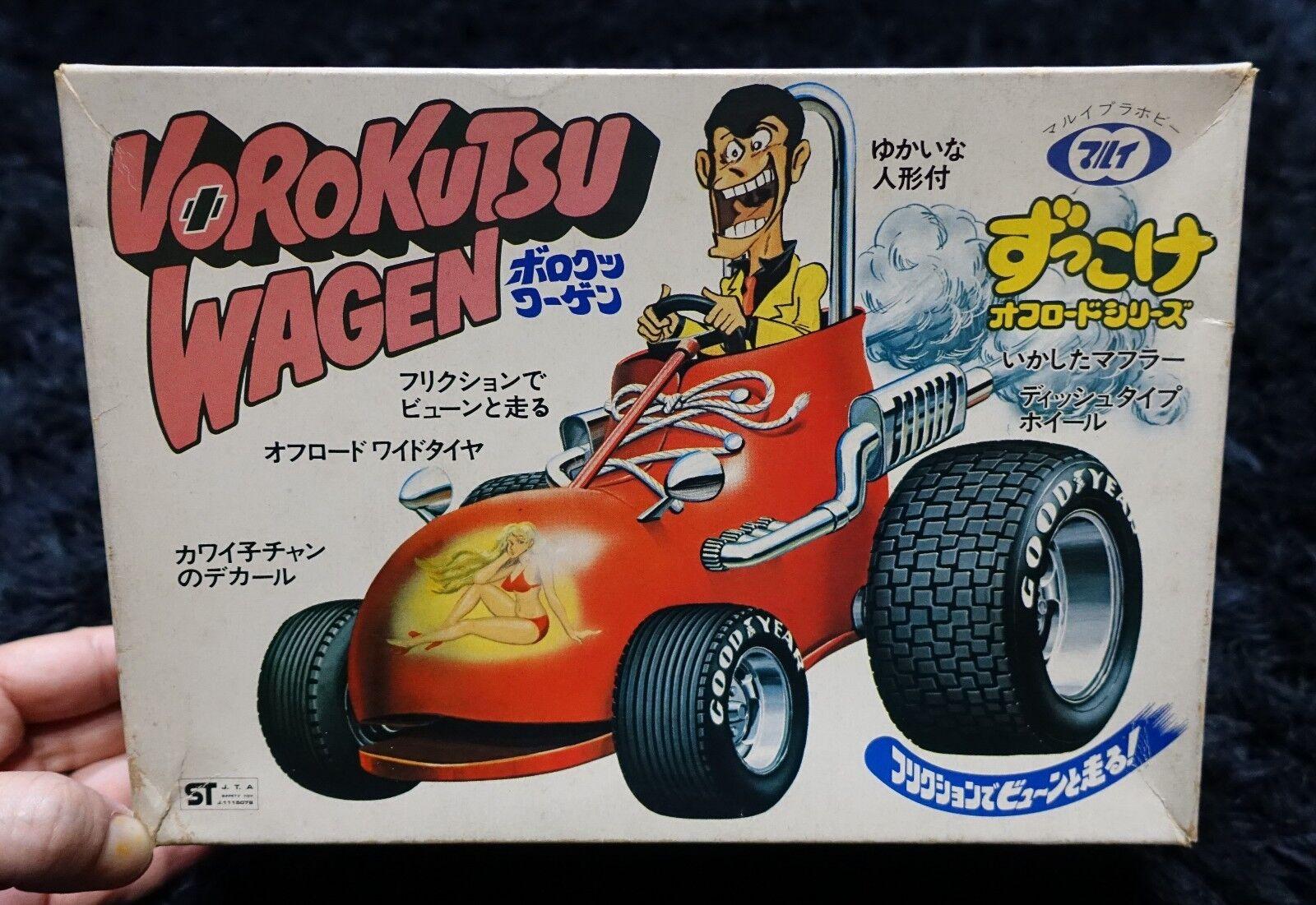 VoroKUTSU WAGEN SHED auto modello KIT MARUI LUPIN III
