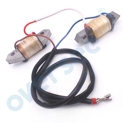 CHARGE EXCITER COIL Assy 66T-85520 for Yamaha Parsun Outboard 40HP T40 E40 40X M