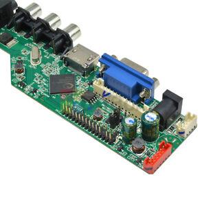 TV-Motherboard-V29-universel-TV-LCD-Controller-Board-VGA-HDMI-AV-TV-USB-NEUF