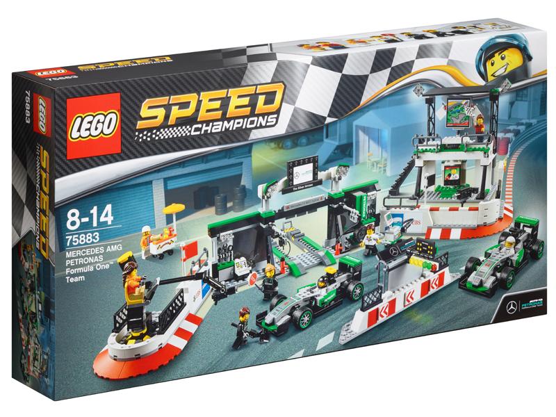 LEGO ® Speed Champions MERCEDES AMG Petronas formula 1 ™ Team b66960450 Nuovo Bambini