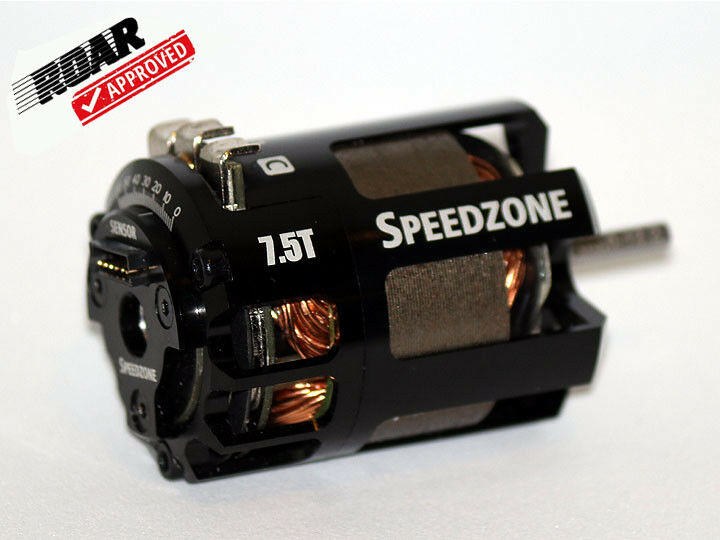 Speedzone 7.5T Competition Modified Brushless Motor Sensored 540 ROAR Approved