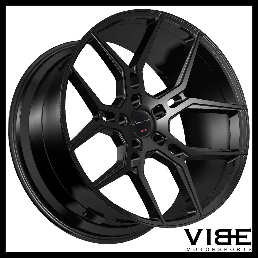 22 giovanna haleb gloss black concave wheels rims fits dodge Chevy Volt norton secured powered by verisign