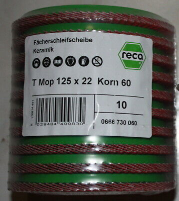 Polierscheibe Fächerscheibe Edelstahl Lack Kupfer Messing Polimaxx4 G-VA 115 125