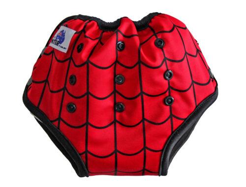 Waterproof Adjustable Size Spiderweb Bamboo Toilet Training Pants Pocket