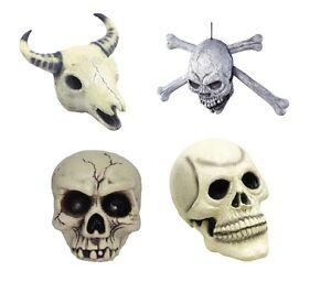 Cow Plastic Realistic Fancy Dress Halloween Prop #Skull Rubber