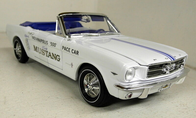 Autoworld échelle 1 18 AW209 ford mustang 1964.5 indianapolis 500 pace car model
