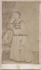 N.Michel Primitivo Parigi Second Empire Francia CDV Vintage Albumina Ca 1860
