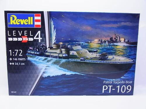 LOT 49168Revell 05147 Patrol Torpedo Boat PT-109 1:72 Bausatz NEU in OVP