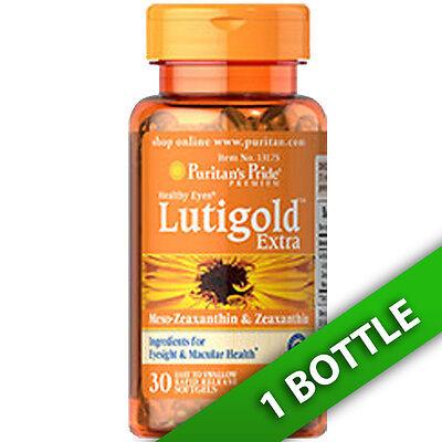 Puritan's Pride Lutein Lutigold Extra 20 mg & Meso Zeaxanthin/ 800Mcg 1X30