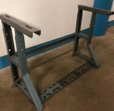 Vintage Singer Industrial Sewing Machine K Leg Table Stand Our 6