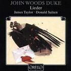 John Woods Duke Lieder 4011790325125 by Taylor CD