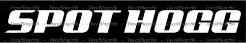 Spot Hogg Archery Car//Truck Vinyl Die-Cut Peel N/' Stick Decals Outdoor Text