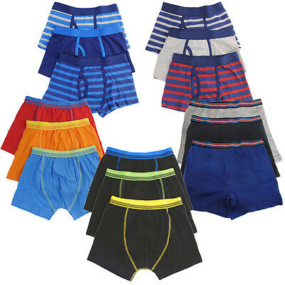 Tom Franks Boys 3 Pack of Cotton Rich Trunks