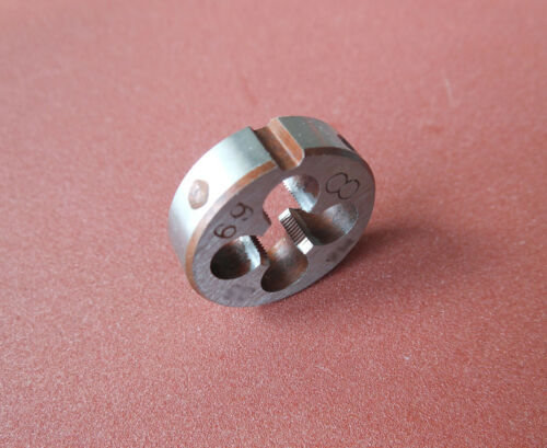 New 1pc Metric Right Hand Die M13X1.0mm Dies Threading Tools M13 x 1.0 mm pitch