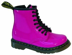 8 Rose Vif Enfants Martens Dr 15373670 Lochbrooklee Pour Chaussures yq44fA