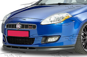 splitter front lip spoiler front bumper for fiat bravo 07. Black Bedroom Furniture Sets. Home Design Ideas