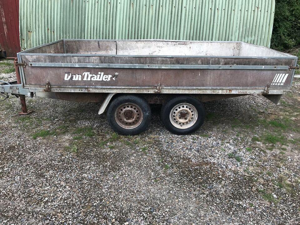 Boogietrailer, Dantrailer 2003, lastevne (kg): 1625
