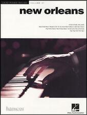 NEW ORLEANS JAZZ PIANOFORTE Solos VOLUME 21 PIANOFORTE spartiti musicali LIBRO