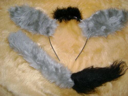 Oreilles d/'âne et la queue instantanée robe fantaisie enfants /& adultes handmade produit unique