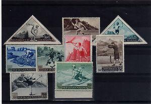 San-Marino-1953-Serie-391-98-A111-Sport-1-serie-posta-aerea-MNH