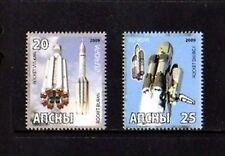 ABKHAZIA - 2009 - SPACE - BURAN - VULCAN - ENERGY - 2 X MINT - MNH SET!