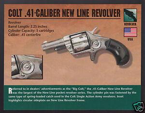 COLT BISLEY REVOLVER .45 Colt Hand Gun Classic Firearms PHOTO CARD