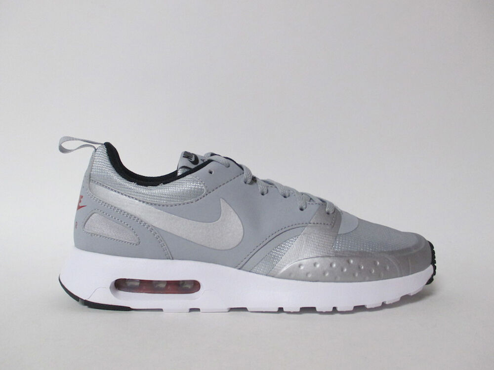 Nike Air Vision Premium Grey Metallic Silver Red White Black 10.5 918229-002
