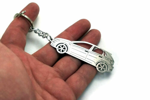 Stainless Steel Keychain for Volkswagen Polo VI 5D Key Ring Pendant Keychain