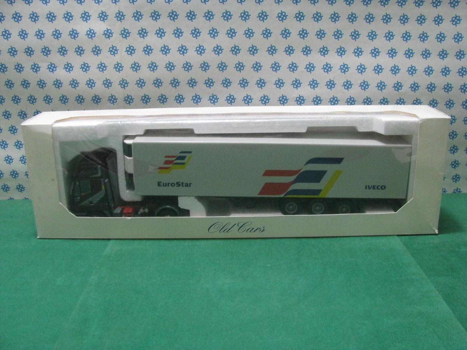 FIAT IVECO EUROSTAR bilico bilico bilico Frigo  1/43 Old Cars 1992 Promozionale | Stocker  8828d4