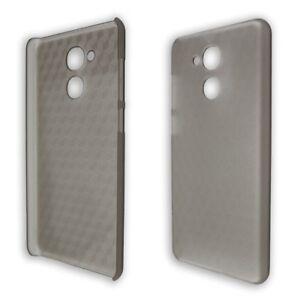 Vernee-M5-Tasche-Backcover-schwarz-transparent-Handytasche-Bumper-Huelle-Case