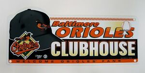 Baltimore-Orioles-MLB-Baseball-8-034-x-19-034-Locker-Room-Sign-by-wincraft
