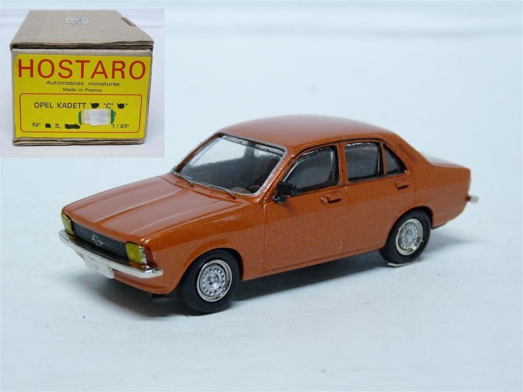 Hostaro 3 1 43 '73 Opel Kadett C Sedan Resin Handmade Model Car Kit