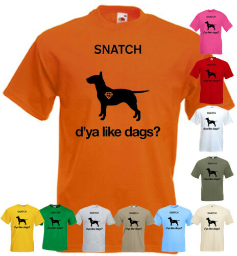 SNATCH v1 T shirt movie poster all colors all sizes S-5XL.