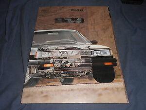 1988-Mazda-929-Sedan-USA-Market-Original-Brochure-Prospekt