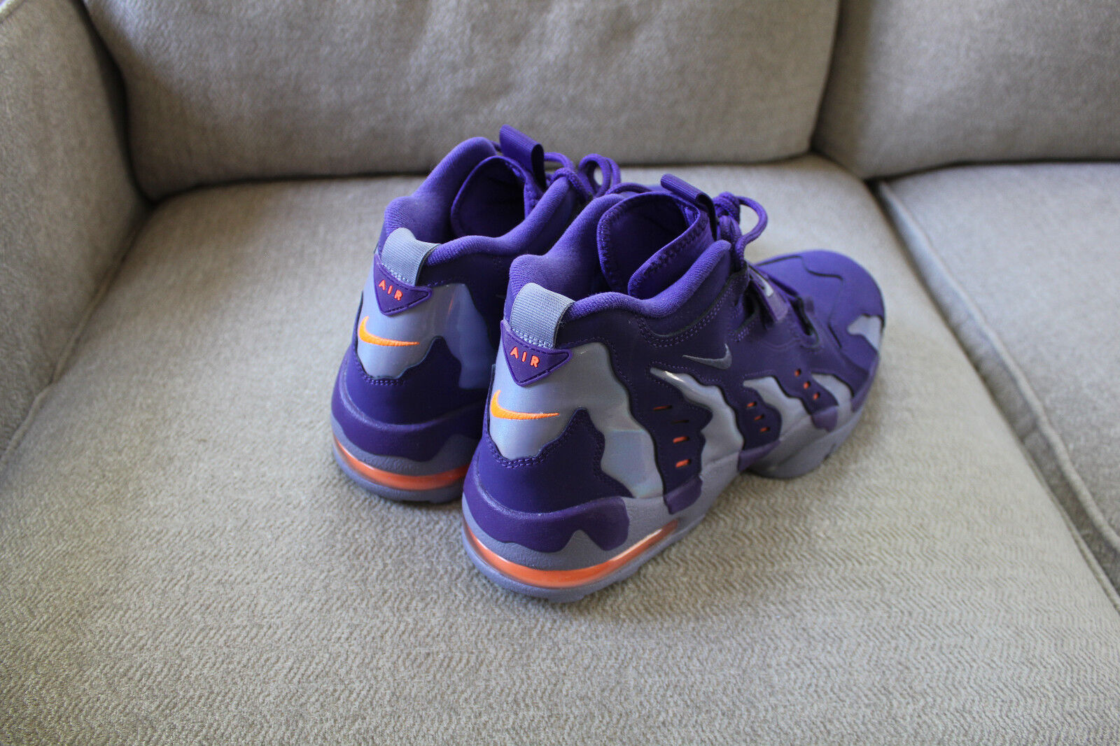 Brand New Nike Air DT Max '96 Court Purple Orange 316408-500 D. Sanders Size 13