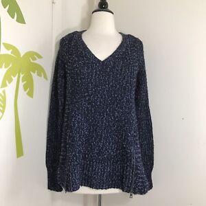 Blue Moth New Wool Dark Anthropologie 118 Small Sz Sweater Orig wrFwxA5