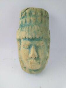 RARE-ANCIENT-EGYPTIAN-ANTIQUE-Pharaoh-Amulet-1426-1241-BC